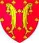 Blason de Raoul Ier comte de Clermont en Beauvoisis