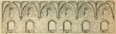 Grand'salle du château de Tortose