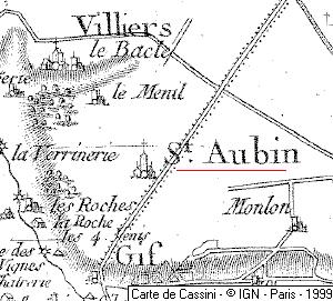 Domaine du Temple de Saint-Aubin