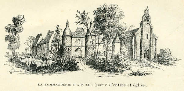 Commanderie d'Arville