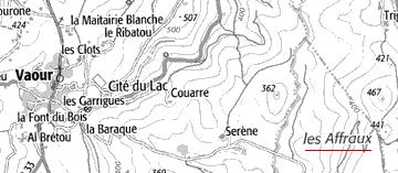Domaine du Temple, Les Affraux