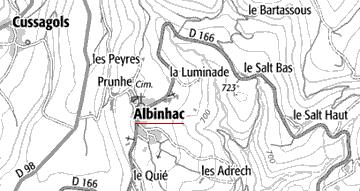 Maison du Temple de Albinhac