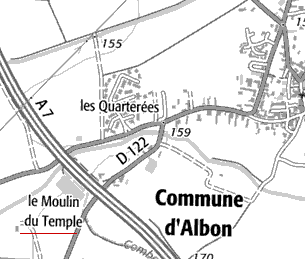 Maison du Temple d'Albon