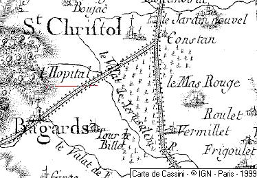 Domaine de l'Hôpital à Espitalet