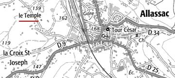 Domaine du Temple de Allassac