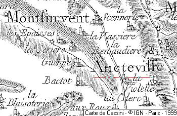 Fief du Temple d'Ancteville