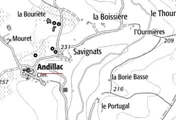 Fiefs de Andillac
