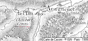 Chapelle du Plan, Aragnouet