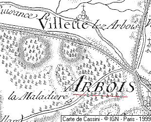 Maison du Temple d'Arbois