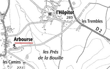 Maison du Temple d'Arbourse