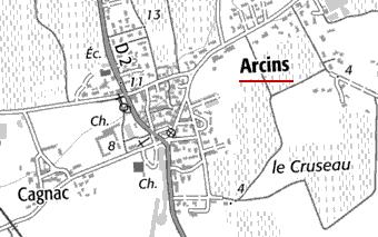 Maison du Temple d'Arcins