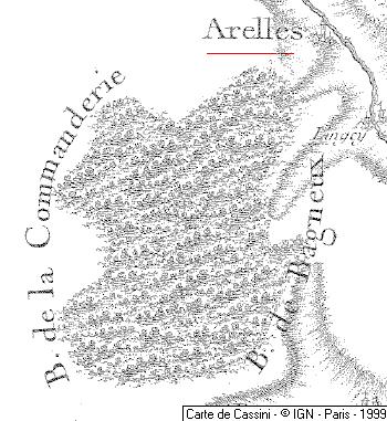 Domaine du Temple à Arelles