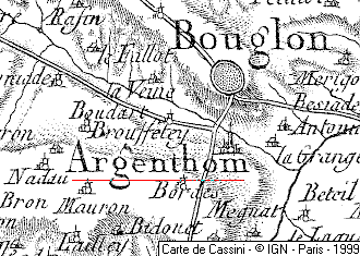 Domaine du Temple à Argenton