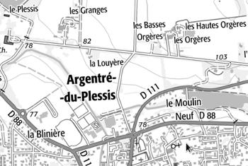 Domaine du Temple à Argentré-du-Plessis
