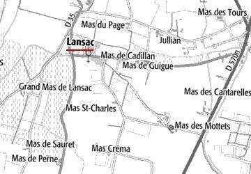 Domaine du Temple à Lansac
