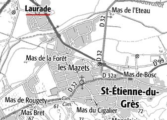 Domaine du Temple à Laurade