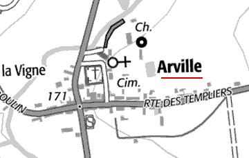 Maison du Temple d'Arville