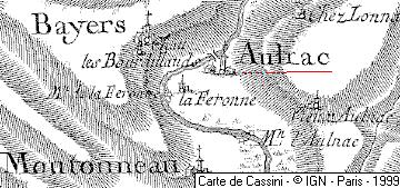 Maison du Temple d'Aunac