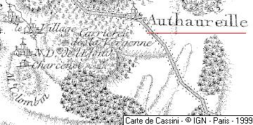 Domaine du Temple de Autoreille