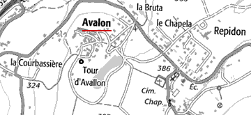 Domaine du Temple à Avalon