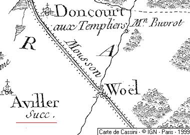 Domaine du Temple d'Avillers-Sainte-Croix
