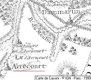 Domaine du Temple à Avrecourt