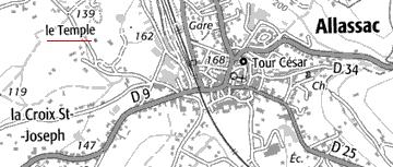 Domaine du Temple d'Allassac