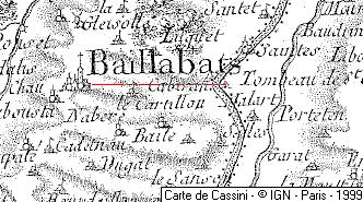 Fief du Temple de Baillasbats, Gers