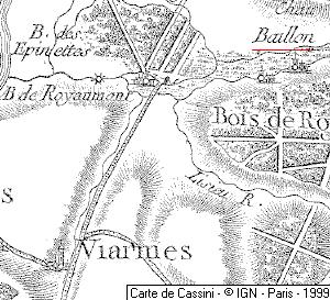 Fief du Temple de Baillon
