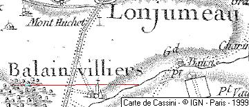 Domaine du Temple de Ballainvilliers