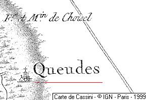 la maison de Queudes