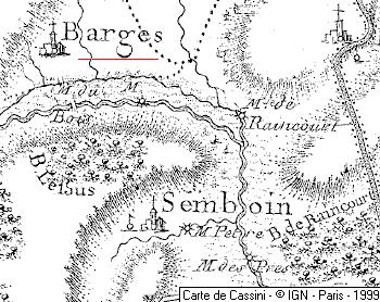 Domaine du Temple à Barges