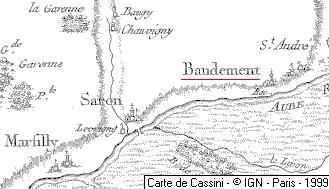 Maison du Temple de Baudement