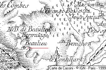 Domaine du Temple de Beaulieu-Mirabel