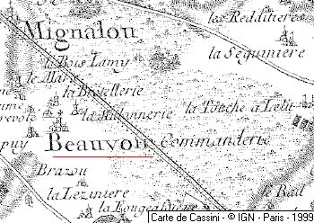 Maison du Temple de Beauvoir