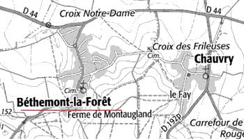 Bien du Temple de Béthemont-la-Forêt