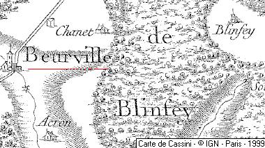 Beurville, Blinfey