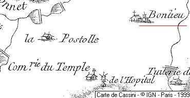 Domaine du Temple de Bonlieu