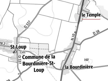 Temple de La Bourdinière