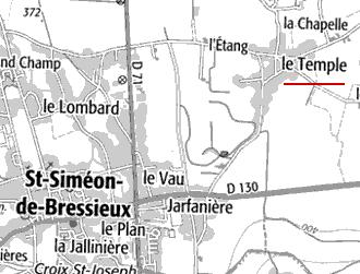 Maison du Temple de Bressieux