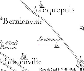Domaine du Temple de Brettemare