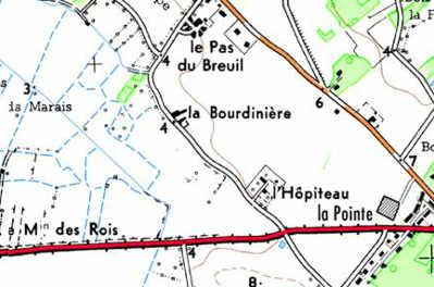 Domaine du Temple àBreuil-du-Pas ou l'Hopiteau