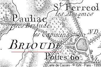 Maison du Temple de Brioude
