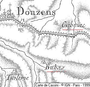 Maisons du Temple de Bubas et Cabriac