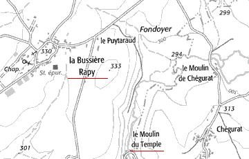 Maison du Temple La Bussière-Rapy