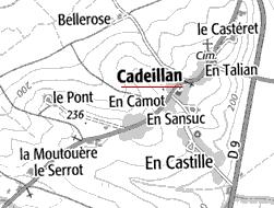 Maison du Temple de Cadeillan