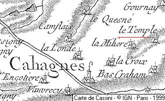 Domaine du Temple de Cahagnes