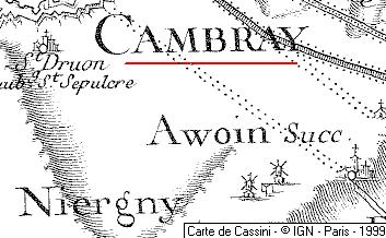 Maison du Temple de Cambrai