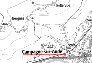 Maison du Temple de Campagne-sur-Aude
