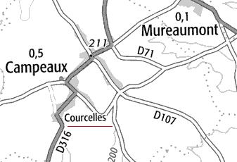 Domaine du Temple à Courcelles